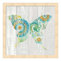 Spring Dream Paisley IX Framed Wall Art