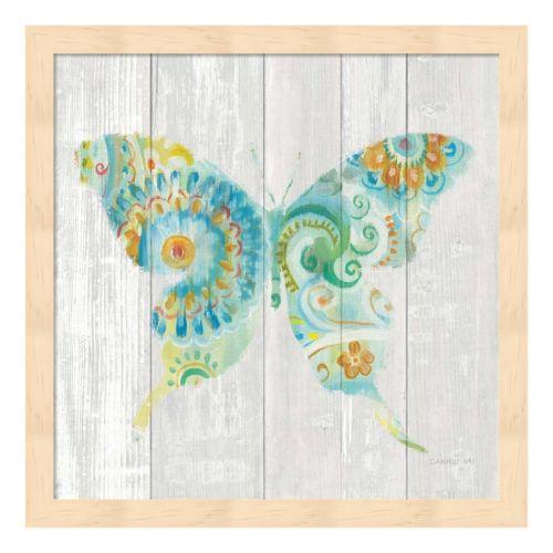 Spring Dream Paisley IX Framed Wall Art