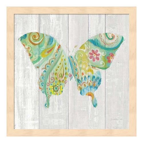 Spring Dream Paisley VIII Framed Wall Art