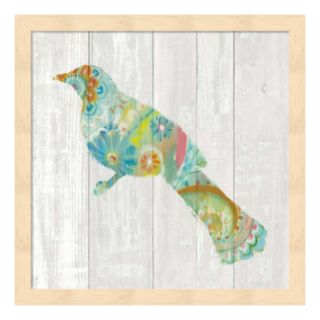 Spring Dream Paisley XI Framed Wall Art