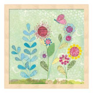Patty's Garden II Framed Wall Art