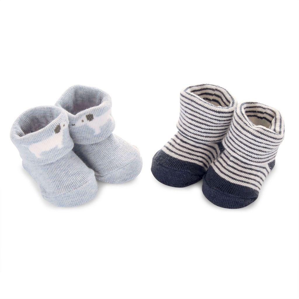Baby Carter's 2-pk. Puppy Bootie Socks