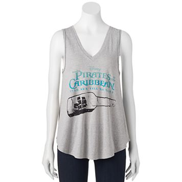 Disney's Pirates of the Caribbean: Dead Men Tell No Tales Juniors' Ship Bottle Graphic Tank