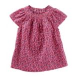 Toddler Girl OshKosh B'gosh® Smocked Flutter Top