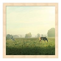 Farm Morning I Framed Wall Art