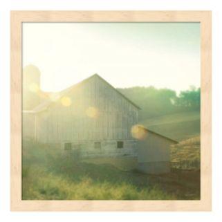 Farm Morning II Framed Wall Art