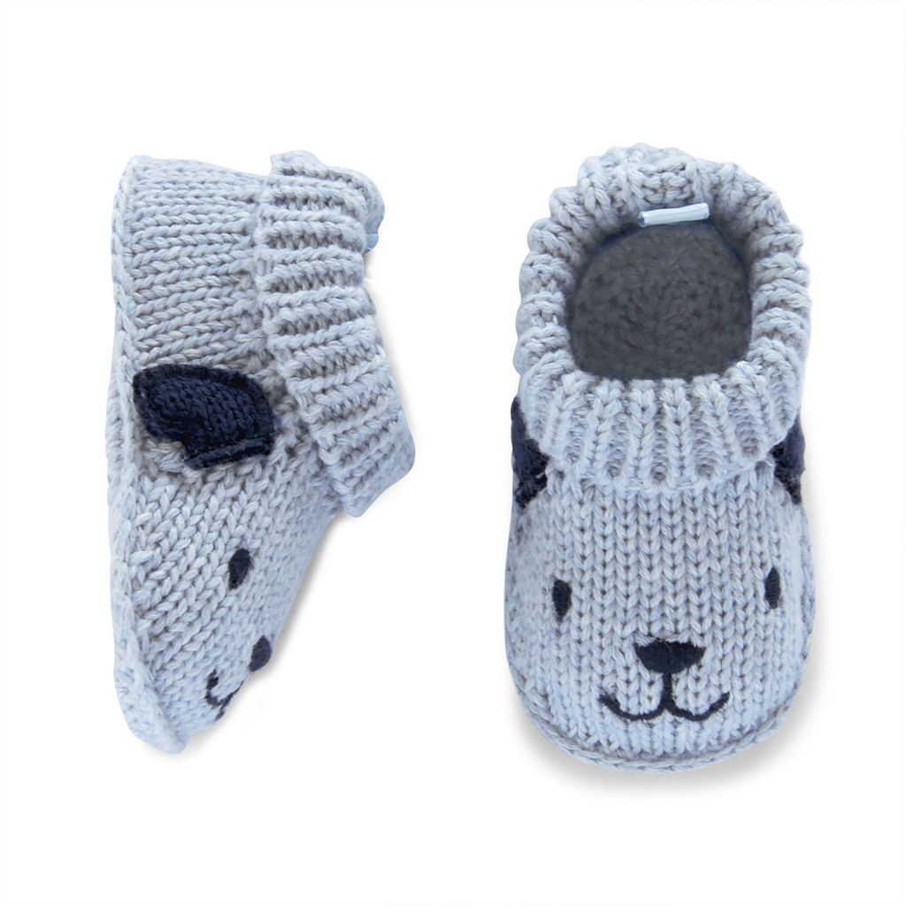 Baby Carter's Puppy Knit Socks