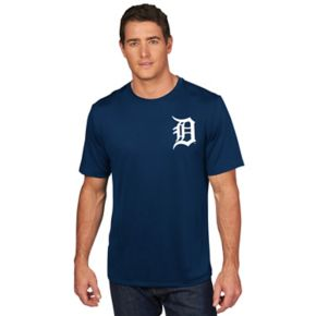 Men's Majestic Detroit Tigers Justin Verlander Player Name and Number Tee