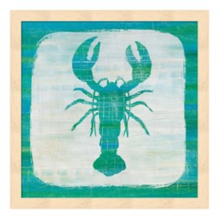 Ahoy II Blue Green Framed Wall Art