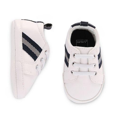 Baby Boy Carter's Slip-On Stripe Crib Shoes