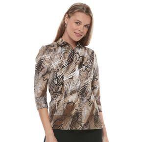 Women's Dana Buchman Cotton Blend Shirt