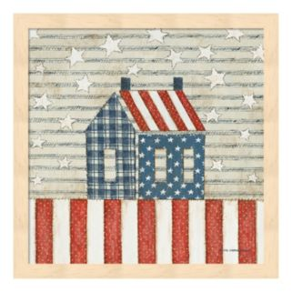 Americana Quilt V Framed Wall Art