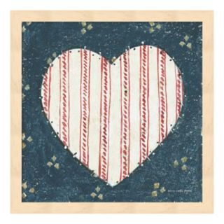 Americana Quilt I Framed Wall Art