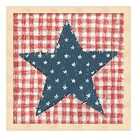 Americana Quilt II Framed Wall Art