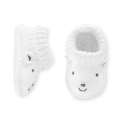 Baby Carter's Lamb Knit Bootie Socks