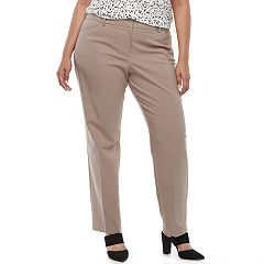 Plus Size Apt. 9® Torie Modern Fit Straight-Leg Dress Pants