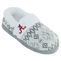 Women's Alabama Crimson Tide Snowflake Slippers