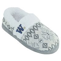 Women's Washington Huskies Snowflake Slippers
