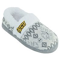 Women's VCU Rams Snowflake Slippers