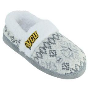 Women's VCU Rams Snowflake Slippers
