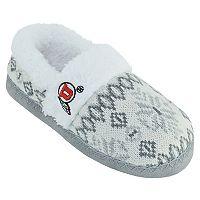 Women's Utah Utes Snowflake Slippers