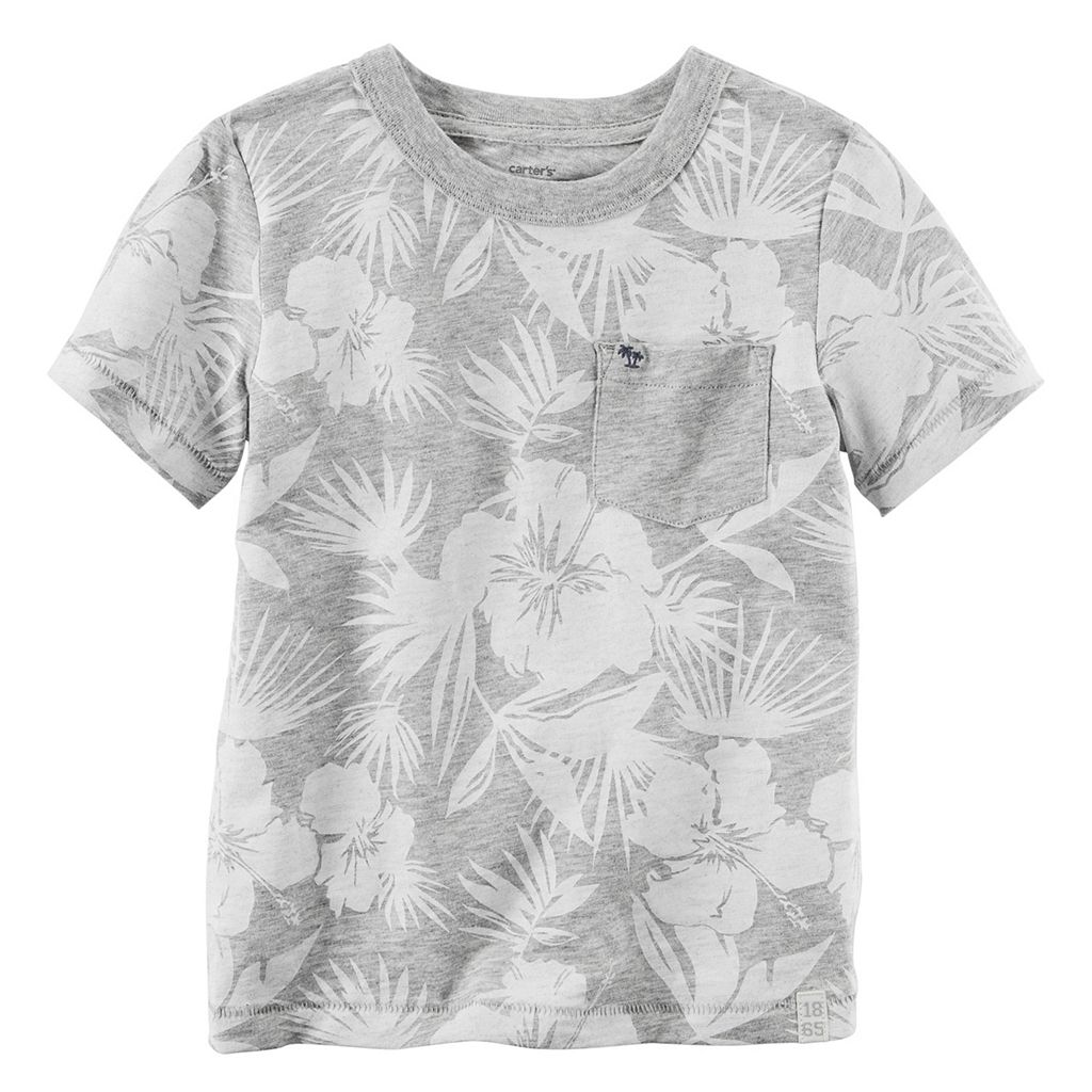 Baby Boy Carter's Tropical Pocket Tee