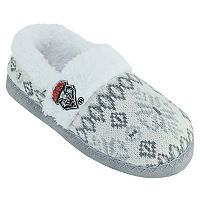Women's New Mexico Lobos Snowflake Slippers