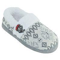 Women's New Mexico Lobos Snowflake Slippers
