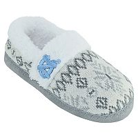 Women's North Carolina Tar Heels Snowflake Slippers