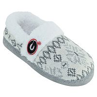 Women's Georgia Bulldogs Snowflake Slippers