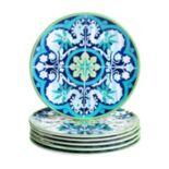 Certified International Grenada 6-pc. Salad Plate Set