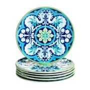 Certified International Grenada 6 pc Salad Plate Set