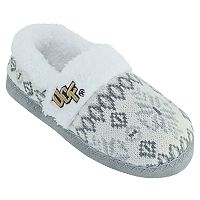 Women's UCF Knights Snowflake Slippers
