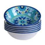Certified International Grenada 6 pc All-Purpose Bowl Set