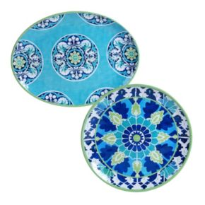 Certified International Grenada 2-pc. Platter Set