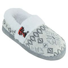 Women's Texas Tech Red Raiders Snowflake Slippers