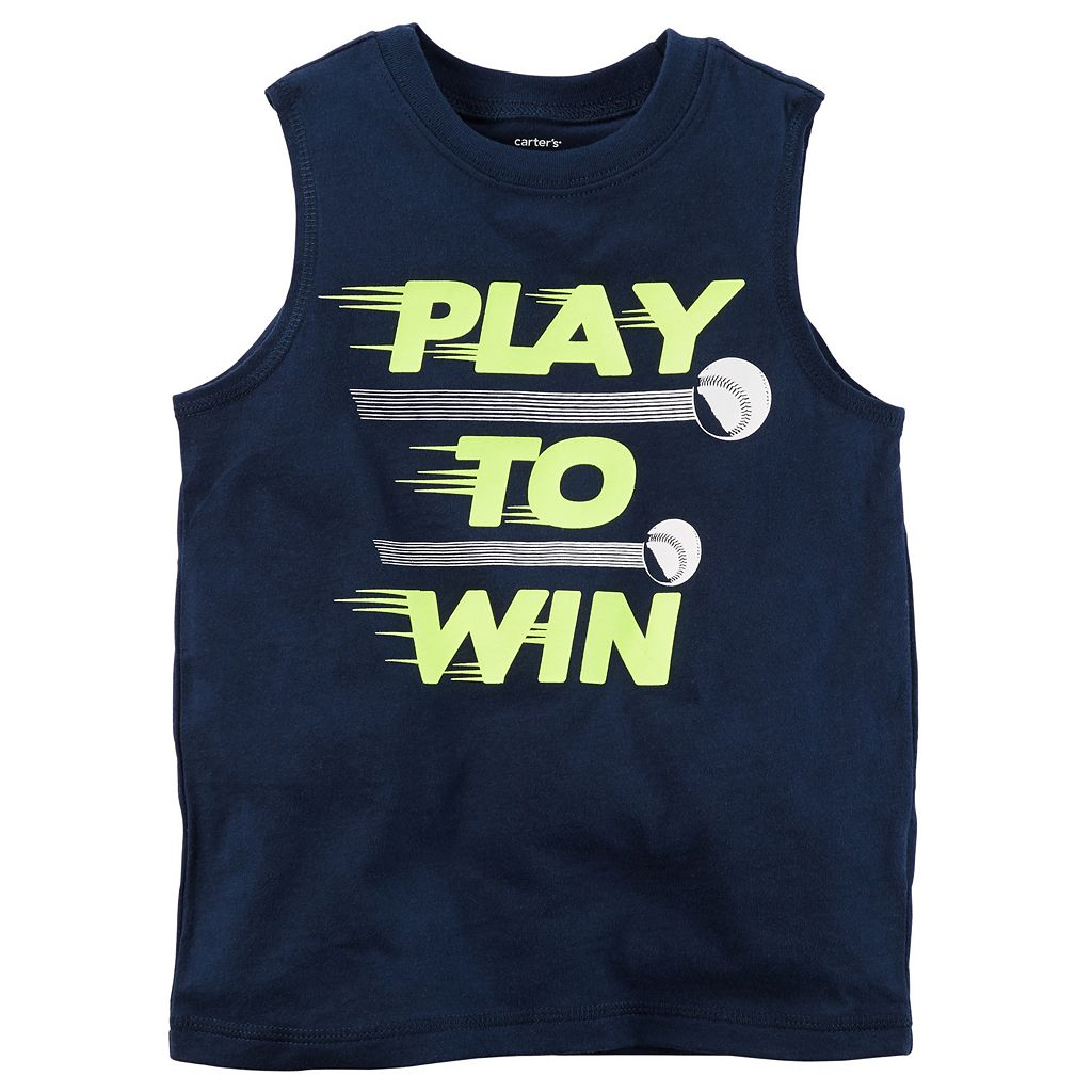 Baby Boy Carter's Active Muscle Tee