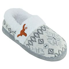 Women's Texas Longhorns Snowflake Slippers