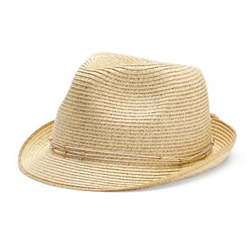 SONOMA Goods for Life™ Metallic Edge Fedora