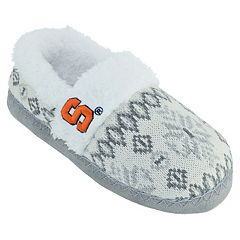 Women's Syracuse Orange Snowflake Slippers