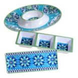 Certified International Grenada 3-pc. Hostess Set