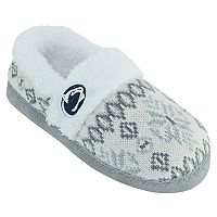 Women's Penn State Nittany Lions Snowflake Slippers