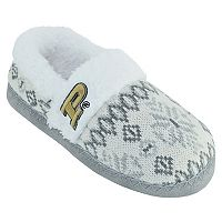 Women's Purdue Boilermakers Snowflake Slippers
