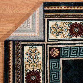 United Weavers Antiquities Framed Floral Rug