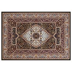 United Weavers Antiquities Qum Diamond Framed Floral Rug