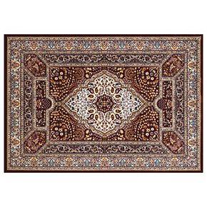 United Weavers Antiquities Qum Diamond Framed Floral Rug