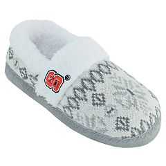 Women's North Carolina State Wolfpack Snowflake Slippers