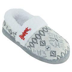 Women's Nebraska Cornhuskers Snowflake Slippers