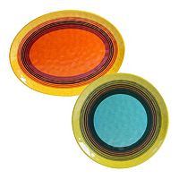 Certified International Sedona 2 pc Platter Set
