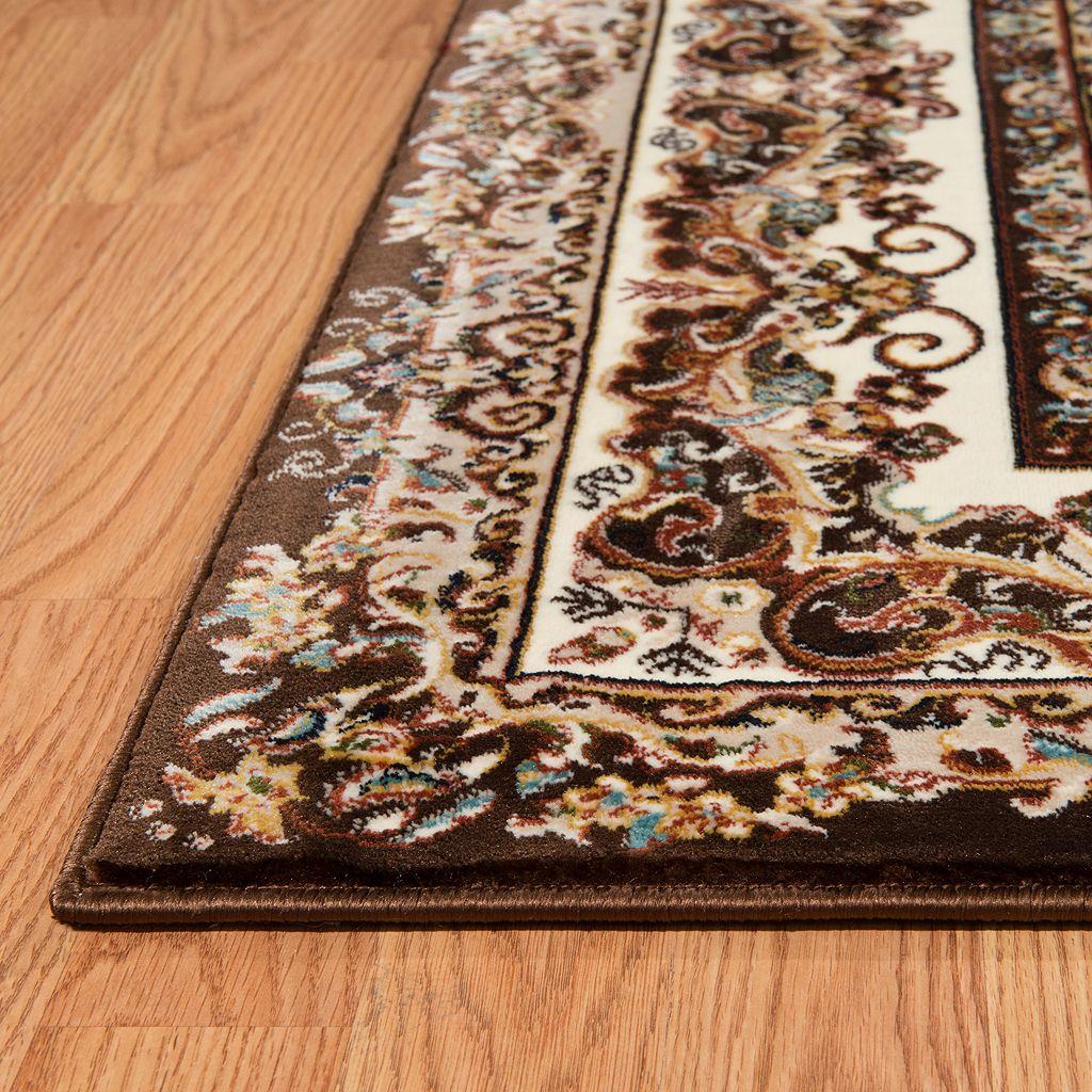 United Weavers Antiquities Saraband Framed Floral Rug